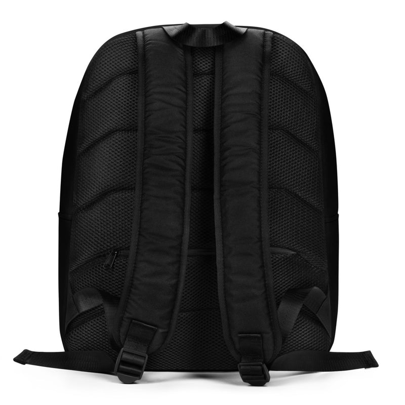 Unique Moments Minimalist Backpack Black