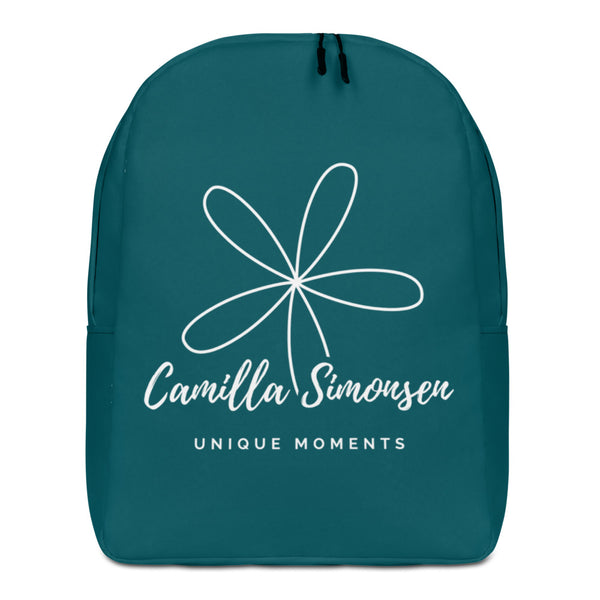 Unique Moments Minimalist Backpack Blue Green