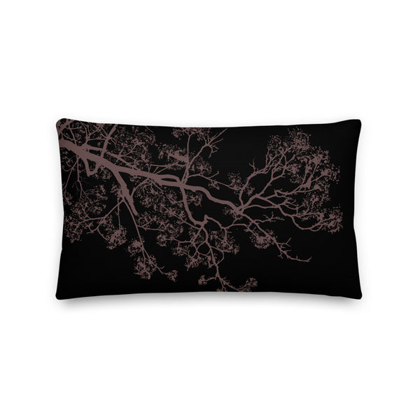 Rosa Branches Premium Pillow