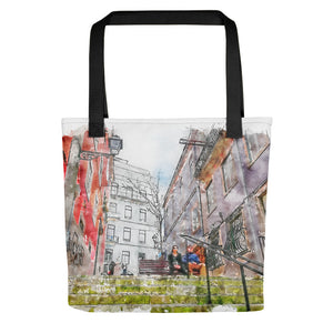 Lisbon Stairs Tote Bag