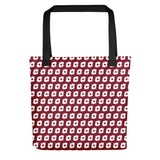 Cornus Canadensis Dark Red Tote Bag