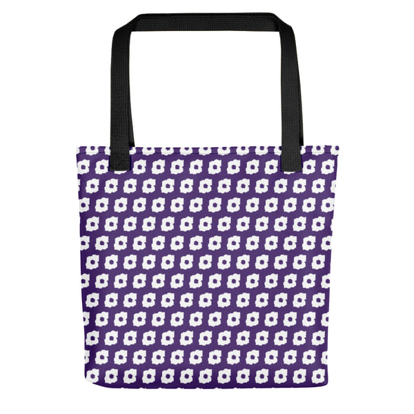 Cornus Canadensis Dark Purple Tote Bag
