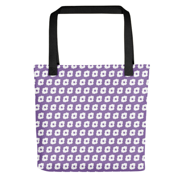 Cornus Canadensis Purple Tote Bag