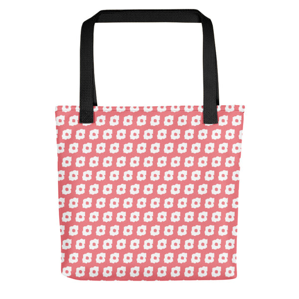 Cornus Canadensis Pink Orange Tote Bag