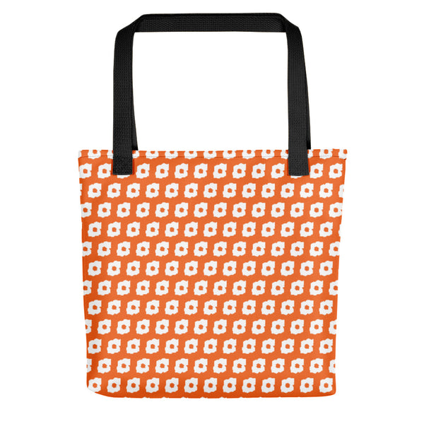 Cornus Canadensis Orange Tote Bag
