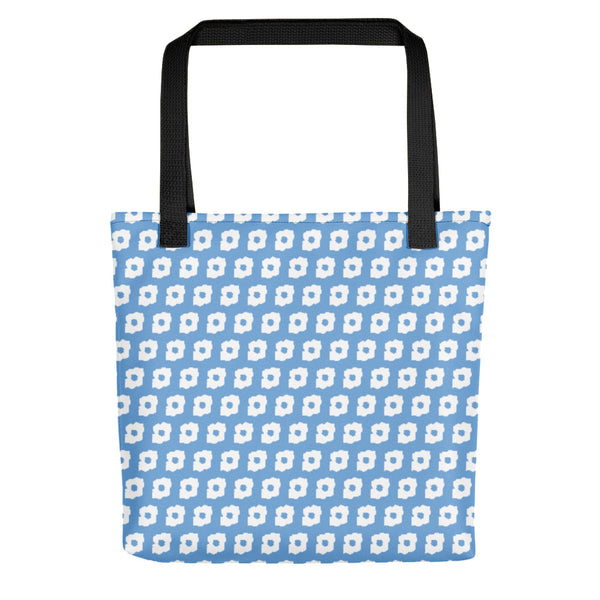 Cornus Canadensis Light Blue Tote Bag