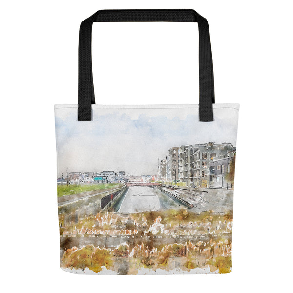 The Canal City Fredericia Tote Bag