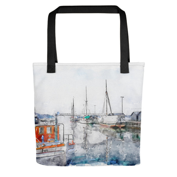 Old Harbor Middelfart Tote Bag