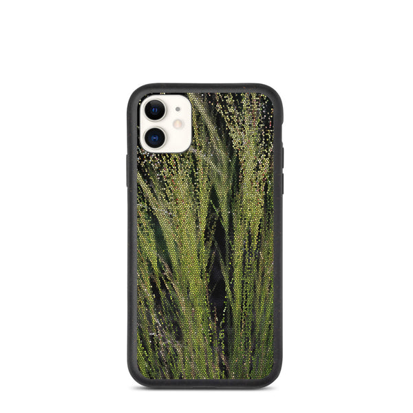 Green Grass Biodegradable iPhone Case