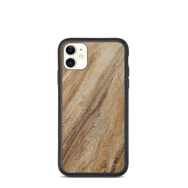 Natural Beach Art Biodegradable iPhone Case
