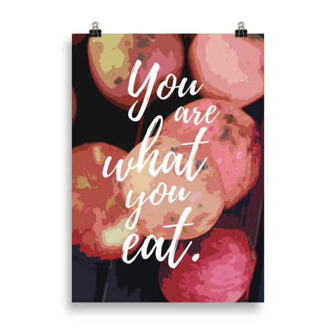 You Are What You Eat Poster