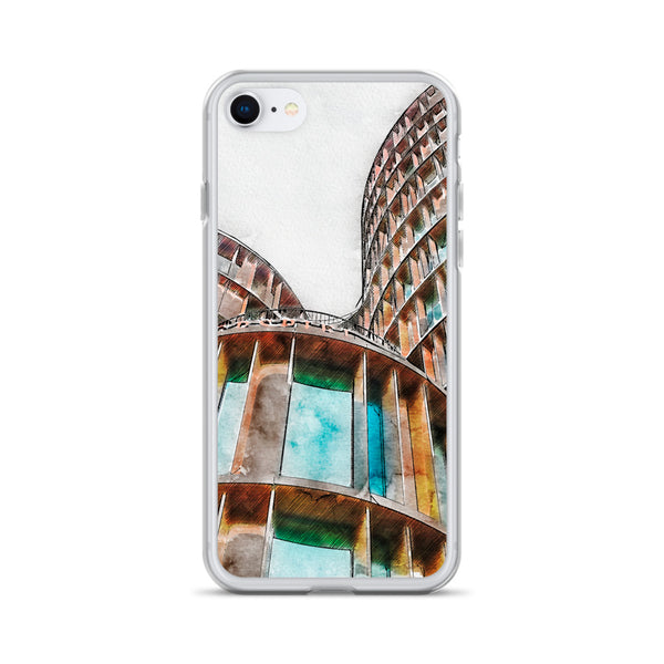 Axel Tower Copenhagen iPhone Case