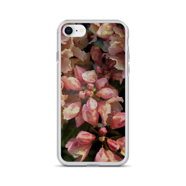 Rhododendron Bud iPhone Case