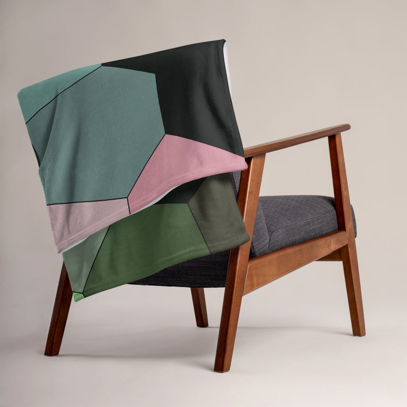 Alumroot Throw Blanket - Camilla Simonsen