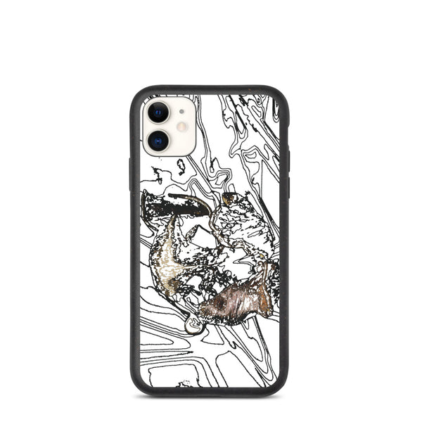 Tulip Decay Biodegradable iPhone Case - Camilla Simonsen