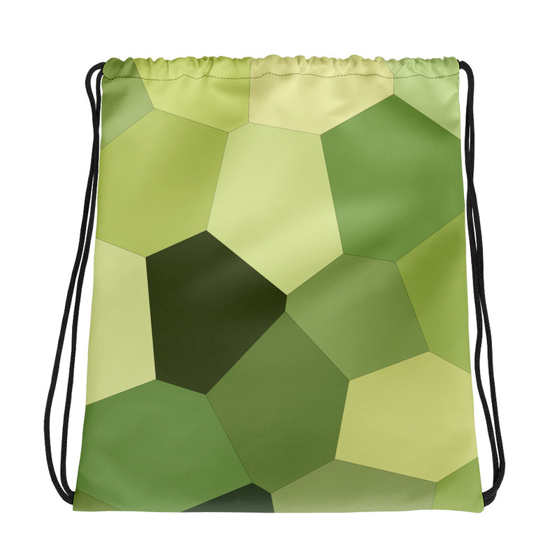 Light Green Hosta Drawstring bag - Camilla Simonsen