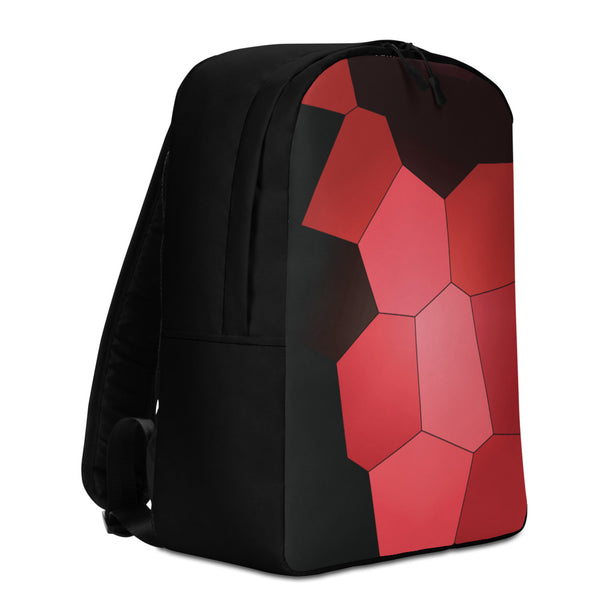 Red Rose 2 Minimalist Backpack - Camilla Simonsen