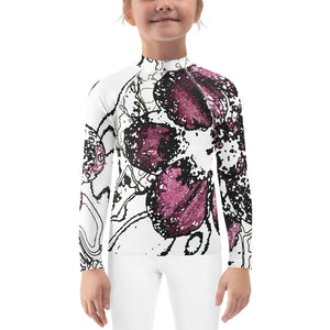 Chocolate Cosmos 3.2 Kids Rash Guard - Camilla Simonsen