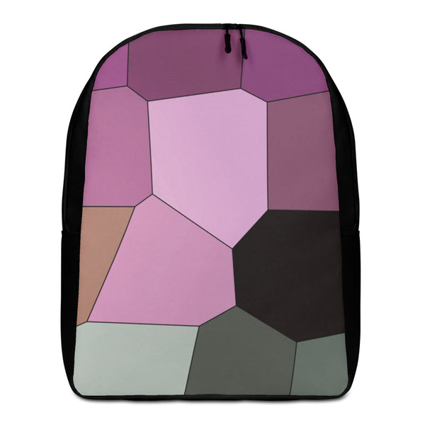 Purple Orchid Minimalist Backpack - Camilla Simonsen