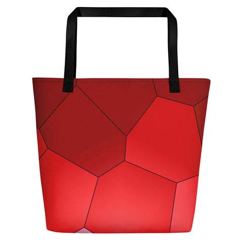 Red Rose Beach Bag - Camilla Simonsen