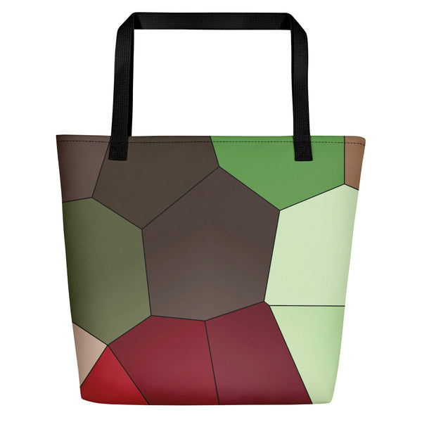 Chocolate Cosmos Beach Bag - Camilla Simonsen