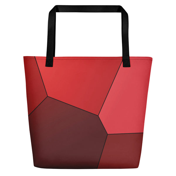 Red Roses Beach Bag - Camilla Simonsen