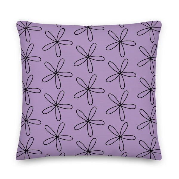 CS Flower Premium Pillow Light Purple - Camilla Simonsen