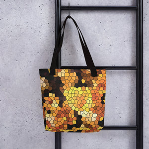 Yellow Crocus Tote bag - Camilla Simonsen