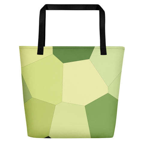 Light Green Hosta Beach Bag - Camilla Simonsen