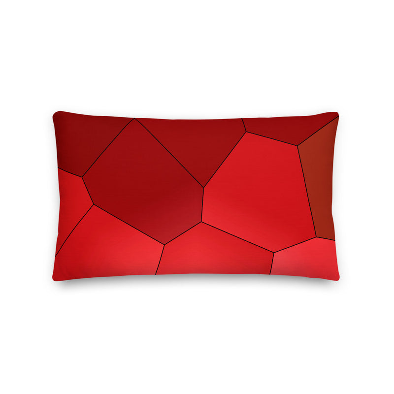 Red Rose Premium Pillow - Camilla Simonsen