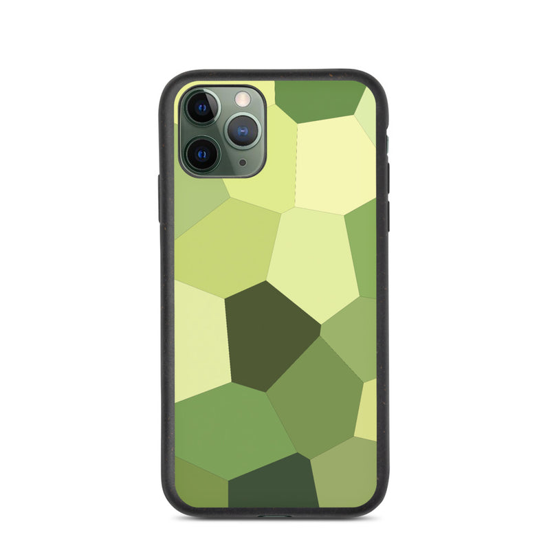 Light Green Hosta Biodegradable iPhone Case - Camilla Simonsen