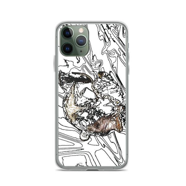 Tulip Decay iPhone Case - Camilla Simonsen