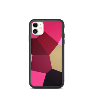 Macro Pink Tulip Biodegradable iPhone Case - Camilla Simonsen