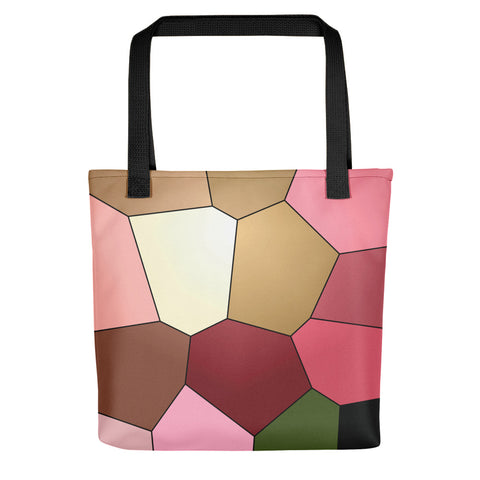 Light Pink Tulip Tote bag - Camilla Simonsen