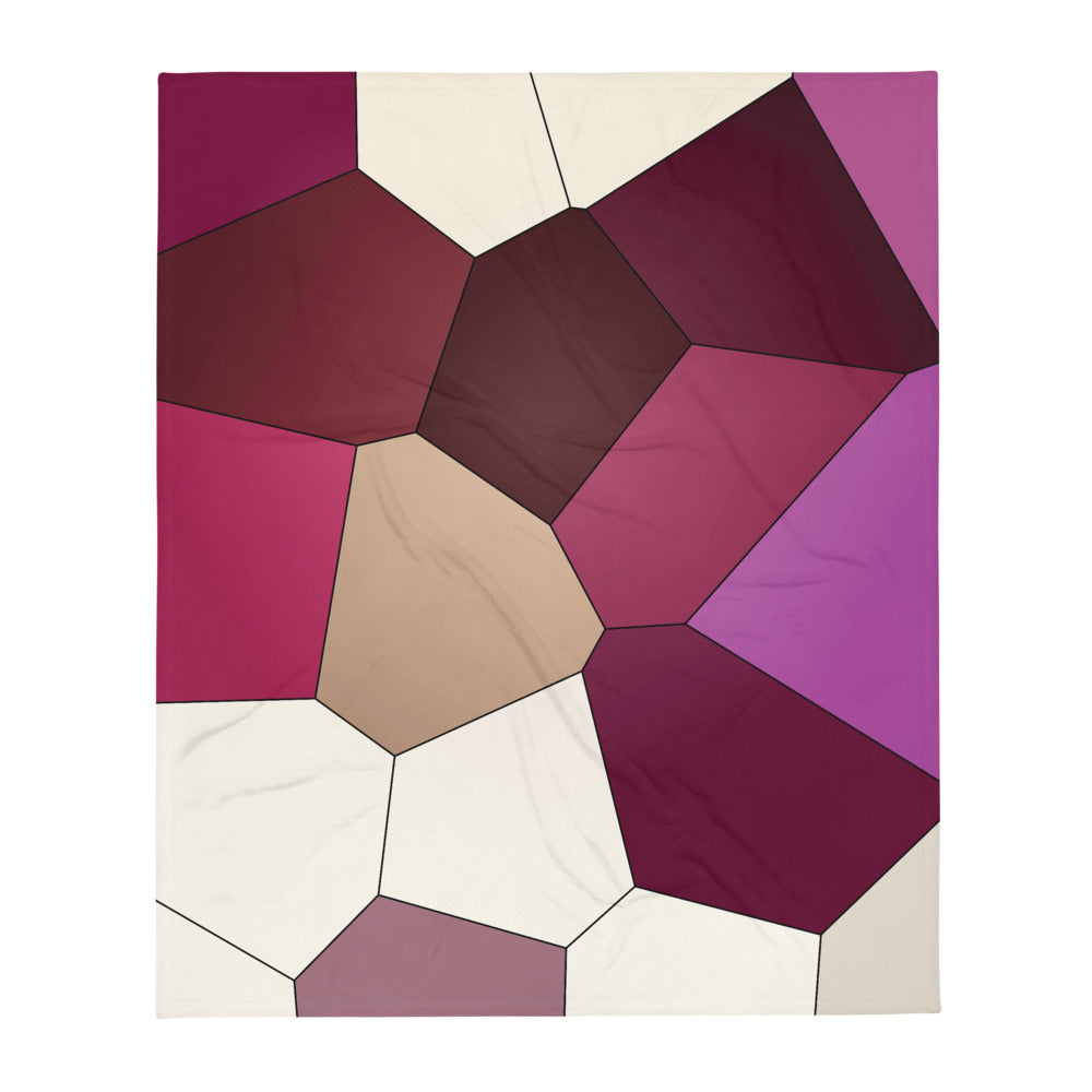 Orchid Throw Blanket - Camilla Simonsen