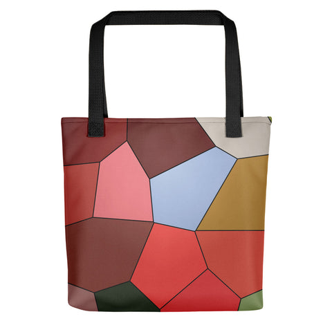 Blueberry Red Tote Bag - Camilla Simonsen