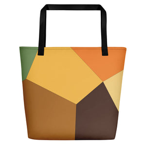 Orange Tulip Beach Bag - Camilla Simonsen