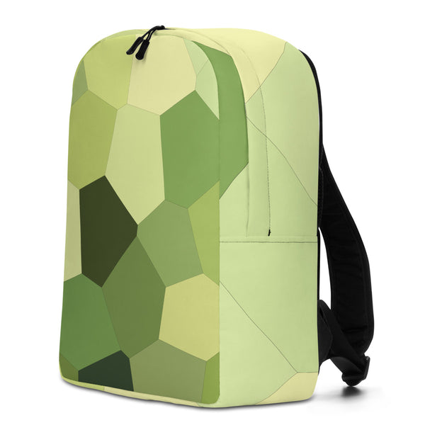 Light Green Hosta Minimalist Backpack - Camilla Simonsen