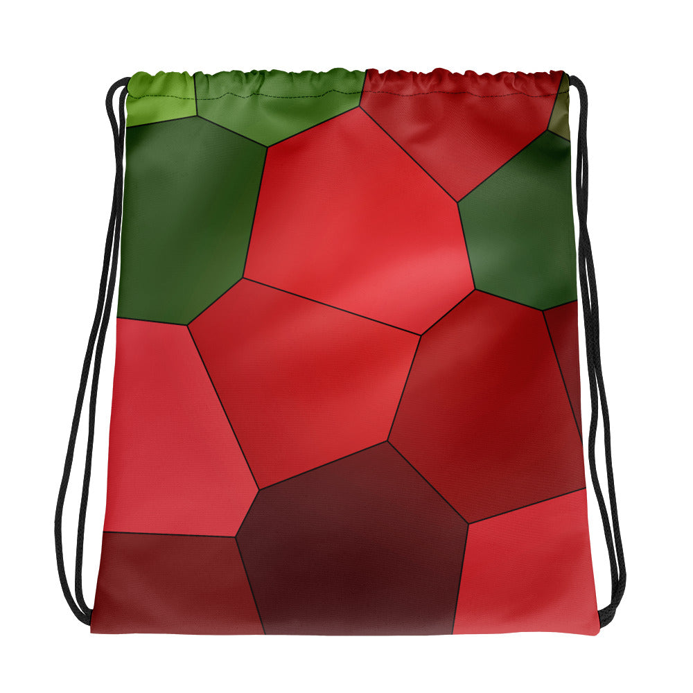 Red Roses Drawstring bag - Camilla Simonsen