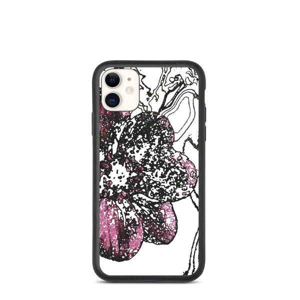 Chocolate Cosmos 3 Biodegradable iPhone Case - Camilla Simonsen