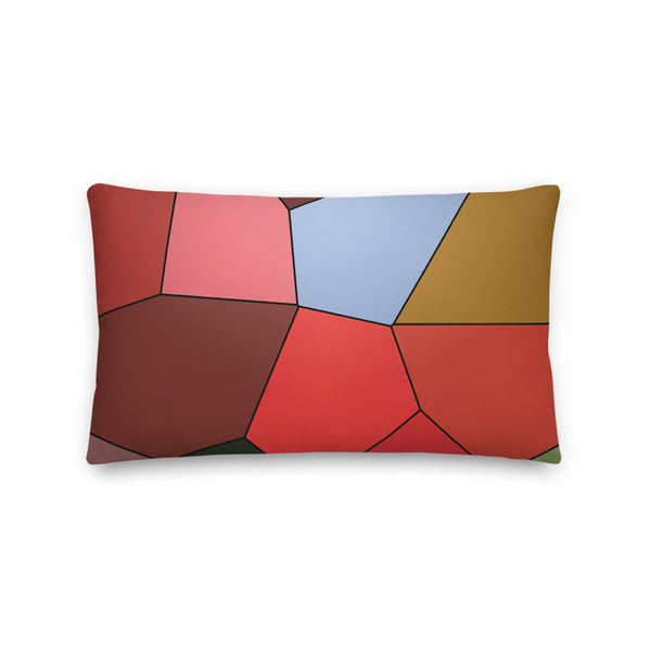 Blueberry Red Premium Pillow - Camilla Simonsen
