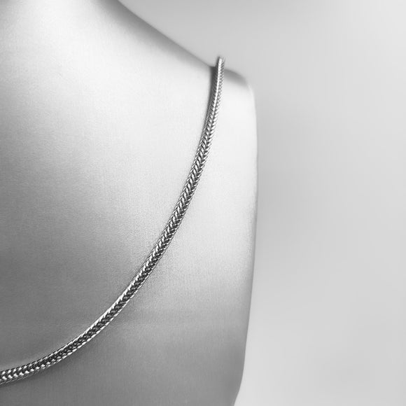 Silver Necklace - Foxy Tail
