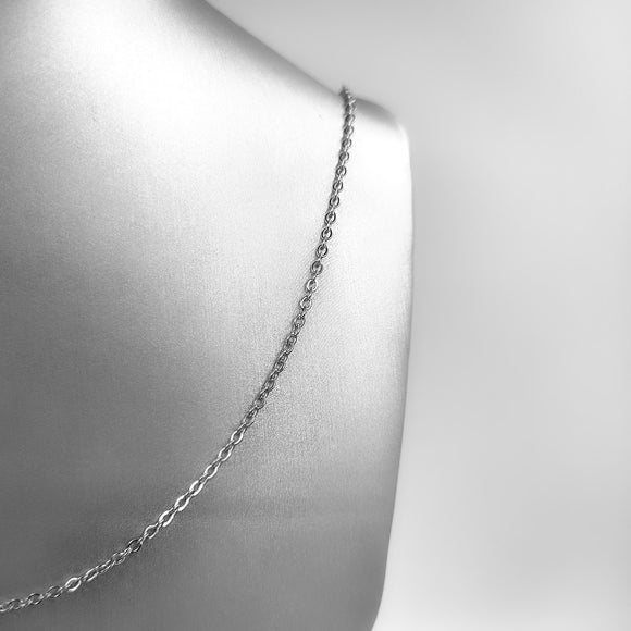 Silver Necklace - Smooth