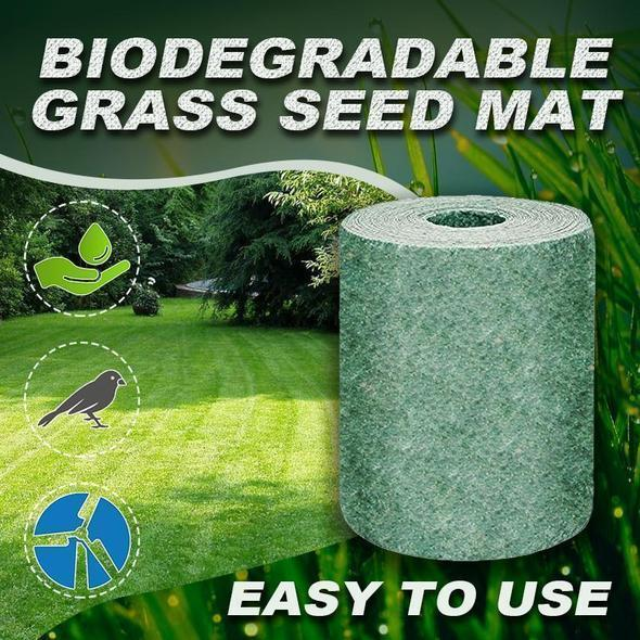BUY 3 ROLLS GET 2 ROLLS FREE Biodegradable Grass Seed Mat