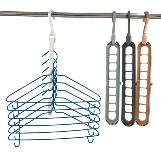 60% OFF-Multifunctional plastic storage hanger household