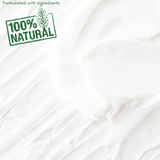 natural ingredients cream texture