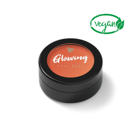 vegan eyeshadow orange shade