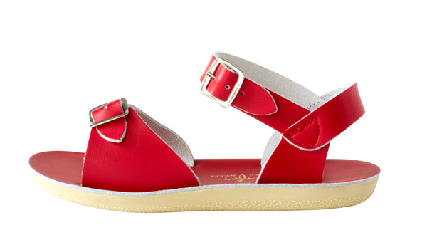 Red Saltwater Sun-San Surfer Sandals