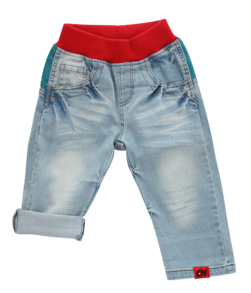 Curious Wonderland Superheroes Denim Shorts