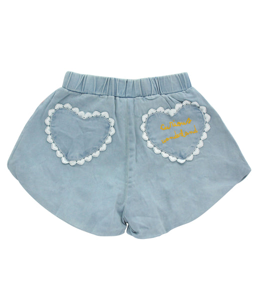 Curious Wonderland Sweetheart Puff Shorts
